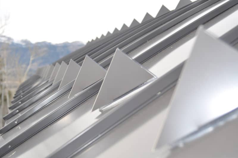 metal roofs save money